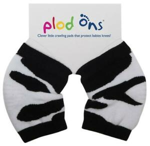 Sock Ons Plod Ons Baby Knee Protectors (Cow Print) Free Shipping!