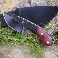 Tactical hunting Stone Wash Knife Blade Outdoor Camping Survive Knives Blades