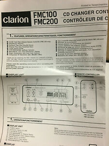 CLARION FMC100 CD/CHANGER CONTRL FOR OLD SCHOOL CLARION 6 DISC/12 DISC CHANGERS