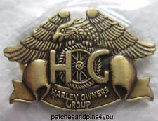 Harley Davidson HOG Harley Owners Group Pin New! FREE U.K. POSTAGE!