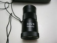 Carl Zeiss pocket Telescope Monocular Germany 3x12 B
