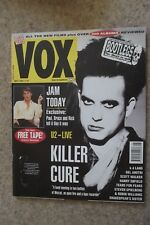 VOX MAY 92 - CURE, US, JAM, KD LANG, BOOTLEGS SHAKESPEAR'S SISTER HARRY ENFIELD