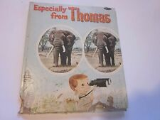 1965 Especially From Thomas by Dorothy Haas Book Whitman Tell-A-Tale