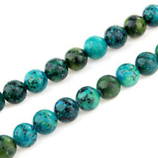 10 mm Ball Chrysocolla Loose Beads Semi-Precious Stones F5I3 U5T0