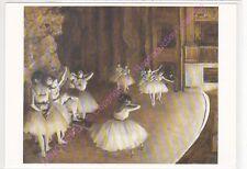 CP ART TABLEAU DEGAS EDAGR Répétition d un ballet sur la scène