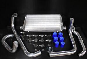 Cooling Pro Bar & Plate Intercooler Kit - Holden VL Turbo Commodore - 76mm Polis