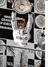 JOHNNY HERBERT firmato 12x8, F1 Stewart vittoria podio, Grand Prix EUROPEI 1999