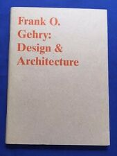 FRANK O. GEHRY: DESIGN & ARCHITECTURE - FIRST EDITION