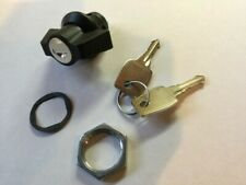 Generac generator 0D3037 lock & key UPGRADED 1/4 turn twist lock & key--METAL!