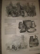 Play The Hop Pickers Adelphi Theatre London 1849 print and article ref AZ