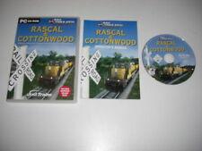 Rascal & COTTONWOOD PC CD ROM Add-On de expansión para simulador ferroviario