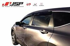 JSP Rain Guard Visor for Honda CR-V 2012-2016 Window Vent Deflector Smoke 218127