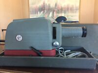 Rare Vintage Victor Soundview Projector By Kalart With Box
