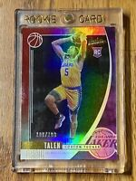 2019-20 Talen Horton-Tucker Panini Absolute Memorabilia Red 100/199 #29 Rookie🔥