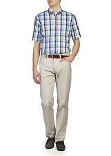 "BNWT BRAX CADIZ MENS LUXURY LIGHTWEIGHT CREAM JEANS PANTS TROUSERS 30"" X 32"""