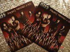 KISS SMASHES, THRASHES, & HITS LP Original USA press w/Promo Flat  EX/EX