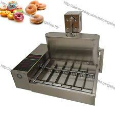 6pcsrow Heavy Duty Electric Auto Fried Mini Donut Doughnut Machine Maker Fryer