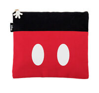 Disney Mickey Mouse Icon Canvas Pouch Cosmetic Makeup Travel Bag Wallet Purse