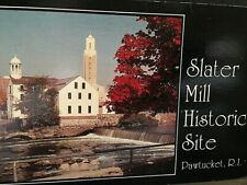 Postcard View of Slater Mill, Historic Site , Pawtucket, RI. T5
