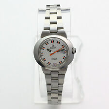 Vintage Stainless Steel Ladies Omega Dynamic Wristwatch
