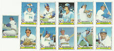 VINTAGE 1979 TOPPS BASEBALL CARDS – SEATTLE MARINERS - MLB