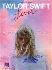 Taylor Swift Lover Piano Vocal Guitar Sheet Music Book SAME DAY DISPATCH
