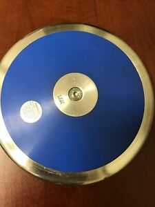 Martin Sports Abs Plastic Discus, 1.6 kg/3.52 lbs.  Small Crack, See Pics