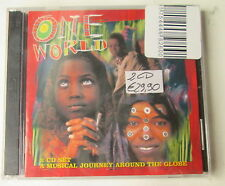# ONE WORLD - A MUSICAL JOURNEY AROUND THE GLOBE -   CD NUOVO SIGILLATO