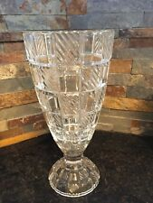 Towle Crystal Vase / Hurricane Candle Holder