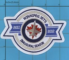 INAUGURAL SEASON VINTAGE Winnipeg Jets Patch ICE HOCKEY Canada Thrashers IRON ON