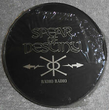 SPEAR OF DESTINY - Radio Radio, Rare 3 inch CD EP, In tin can, Life Goes On