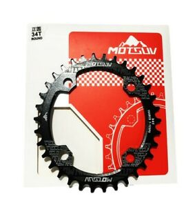 104 BCD Narrow - Wide Single Chainring | MTB | 32 34 36 38 T | Cycle Accessories