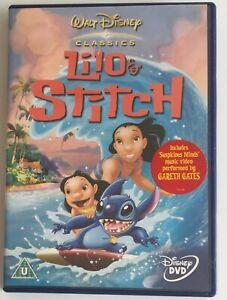 Lilo And Stitch (DVD, 2003) Disney Animated Comedy-Drama Film, Region 2