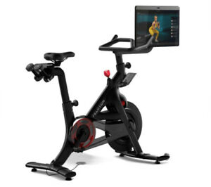 Peloton Exercise Bike+ Plus • PRISTINE CONDITION  Weights & Mat Included