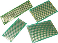 4 Lochrasterplatinen 20 x 80 - 30 x 70 - 40 x 60 - 50 x 70 RM 2,54 Platine