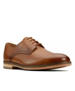 Clarks Men's Oliver Lace Tan Leather Craftmaster Shoe UK 9 G EU 43