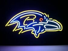 "New Baltimore Ravens Beer Bar Neon Light Sign 24""x20"""