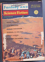 October 1967 The Magazine of Fantasy & Science Fiction-  Fritz Leiber, Asimov