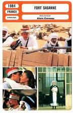FICHE CINEMA : FORT SAGANNE - Depardieu,Deneuve,Noiret,Corneau 1984