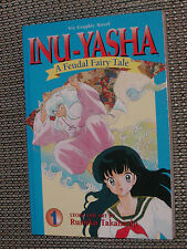 InuYasha Manga #1 - Rumiko Takahashi 2002 anime pb book Viz graphic novel