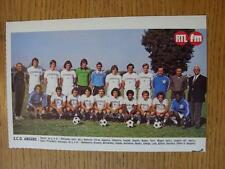 """1976/1977 Football Magazine (France) Colour Team Group [8""""x 5""""] Cut Outs: Angers"""