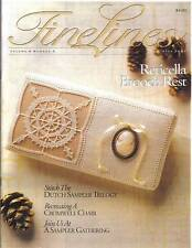 FineLines Magazine Winter 2001 Vol 5 No 3.  COPY.