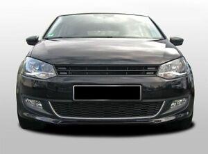 For VW Polo MK5 6R Badgeless Debadged Front Sport Hood Bumper Grill w/o Emblem