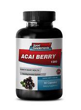 Acai Berry Capsules - Acai Berry Extract 1200mg - Botanical Slimming 1B