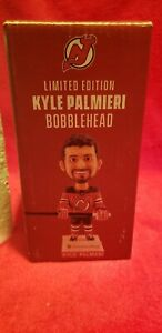 NHL Kyle Palmieri New Jersey Devils Bobblehead Limited Edition  New in Box