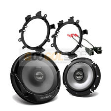 Kenwood KFC-1666S Truck Front Door Speakers w/Install Kit for 1995-up GM