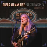 GREGG ALLMAN - GREGG ALLMAN LIVE: BACK TO MACON, GA NEW CD