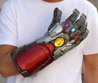 Hot Avengers Endgame Tony Stark Infinity Gloves Iron Man Gauntlet Cosplay Prop