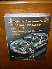 Modern Automotive Technology  6th Edition Shop Manual