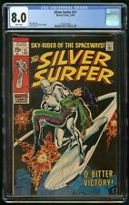 SILVER SURFER #11 (1969) CGC 8.0 1st PRINT WHITE PAGES